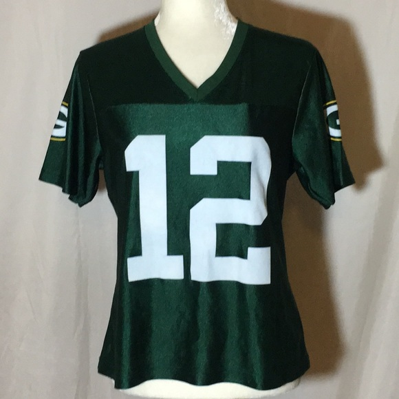 uk availability 6e355 fca6c NFL Green Bay Packers Aaron Rodgers woman's Jersey